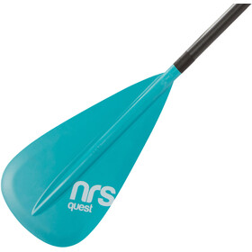 NRS Quest SUP Paddle 3-piece teal